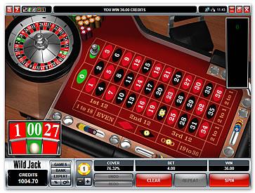 Double zero roulette online