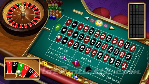 Casino Roulette Flash Game